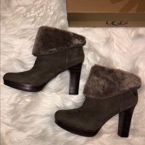 New Ugg heeled booties